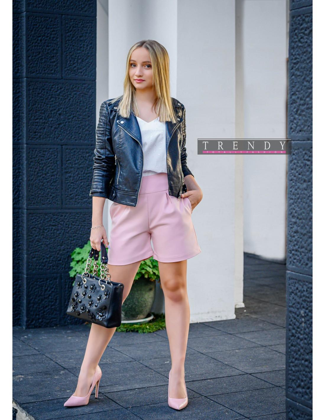 Дамски панталон в розово