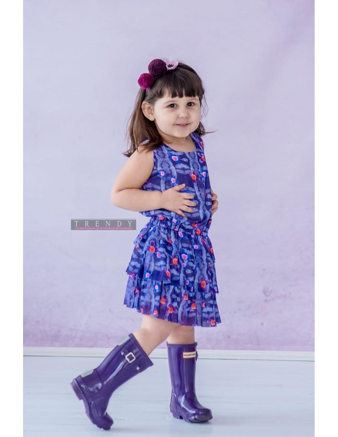 Детска рокля Ultraviolet