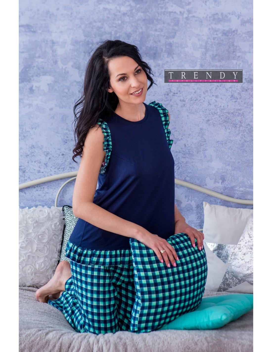 Дамска блузка с къдри